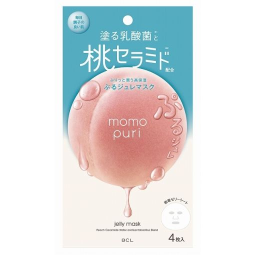 BCL / MOMOPURI MILK JELLY MASK 4p