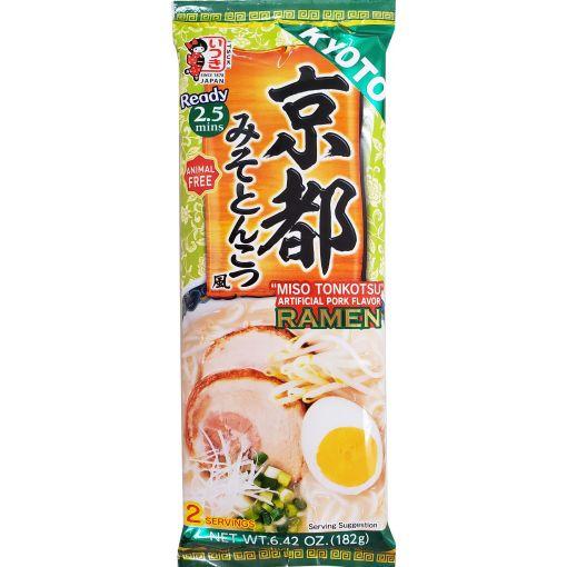 ITSUKI SHOKUHIN / DRIED NOODLE (KYOTO MISO TONKOTSU RAMEN) 182g