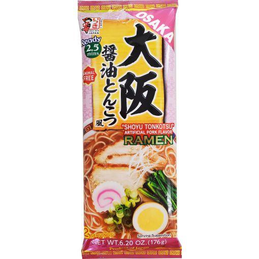 ITSUKI SHOKUHIN / DRIED NOODLE (OSAKA SYOYU TONKOTSU RAMEN) 176g