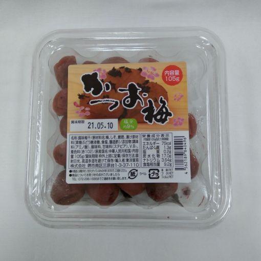 TOYO BOEKI / SEASONED PLUM (KATSUO UME) 105g