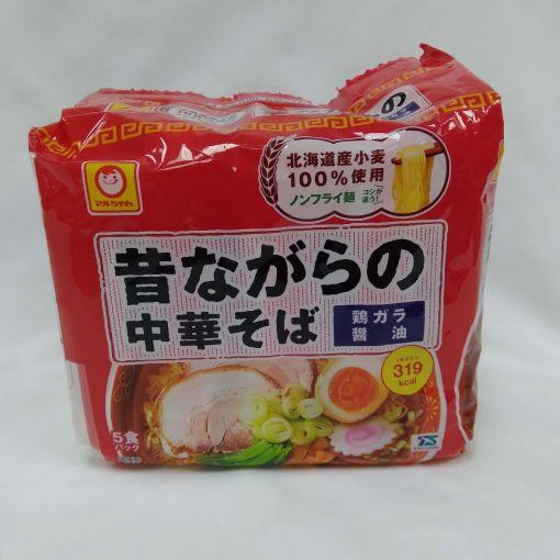 TOYO SUISAN / INSTANT NOODLE SOYSAUCE(MUKASHINAGARA SHOYU) 108gx5