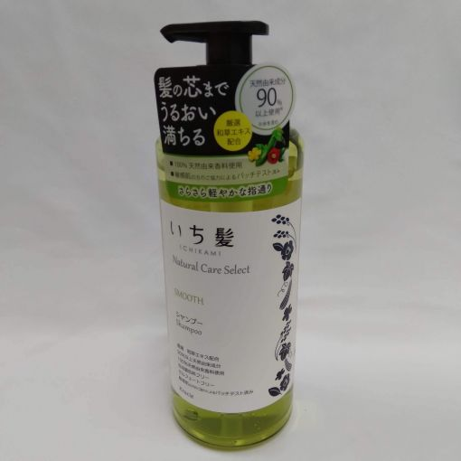 KRACIE / ICHIKAMI NATURAL CARE SELECT SMOOTH SHAMPOO 480ml