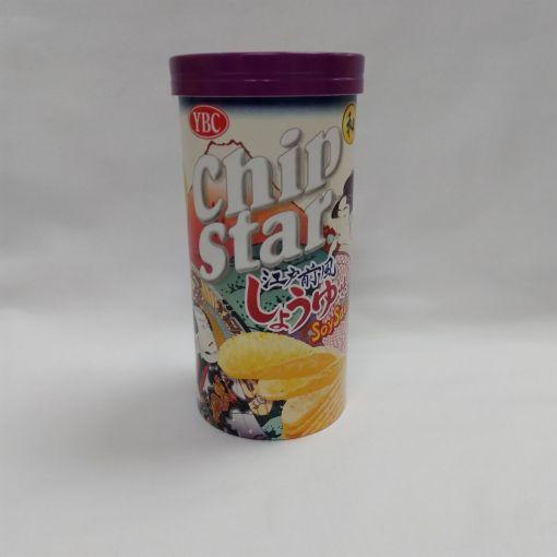 YAMAZAKI / WHEAT SNACK (CHIP STAR EDOMAE SOY SAUCE) 50g