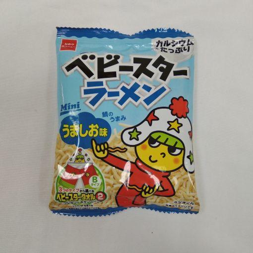 OYATSU CO / NOODLE SNACK SALT (BABY STAR) MINI 21g