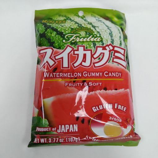 KASUGAI / GUMMY EX FRUTIA WATERMELON 107g