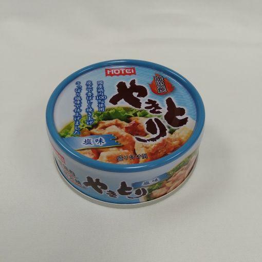 HOTEI / CANNDED CHICKEN(YAKITORI SALT AJI) 60g