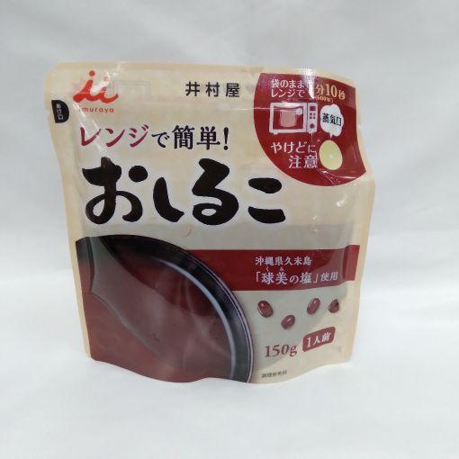 IMURAYA / SWEET RED BEAN (OSHIRUKO) 150g