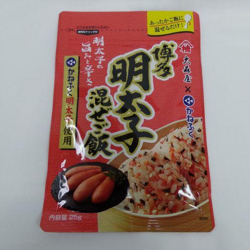 OMORIYA / RICE SEASONING POWDER(KANEFUKU SPICY COD ROE) 25g