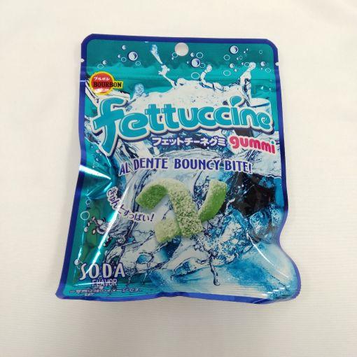 BOURBON / GUMMY (FETTUCCINE SODA) 50g