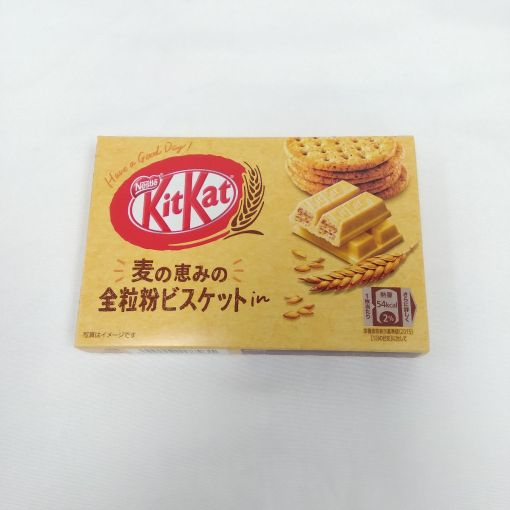 NESTLE / CHOCOLATE SNACK (KITKAT MINI WHOLEMEAL BISCUIT) 3p