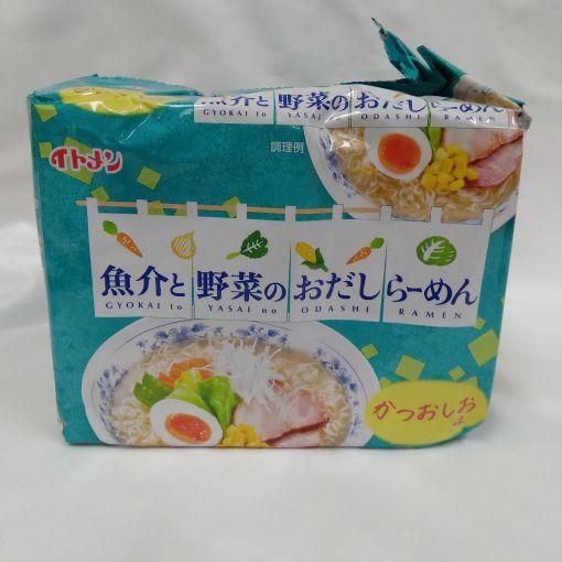 ITOMEN / INSTANT NOODLE (GYOKAITOYASAINO ODASHI RAMEN SHIO) 425g