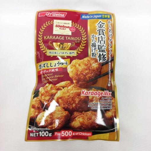 NISSIN FOODS / SEASONED WHEAT FLOUR (KARAAGEKO SOY SAUCE GARLIC FLAVOUR) 100g