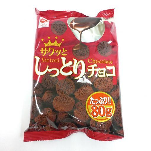 RISKA / CHOCOLATE SNACK(SHITTORI CHOCO) 80g