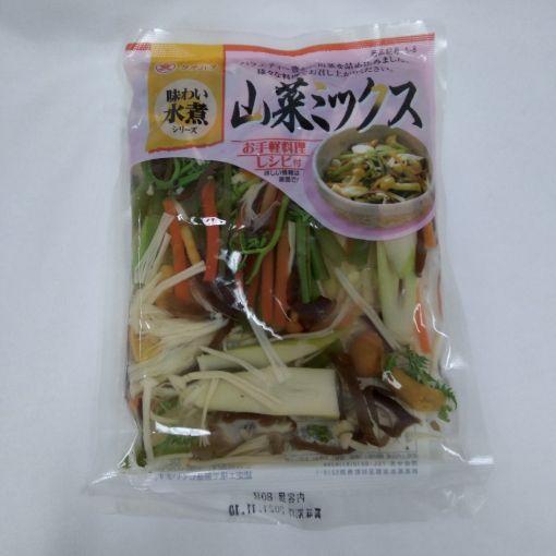 TACHIBANA FOODS / BOILED VEGETABLE (SANSAI MIX) 80g