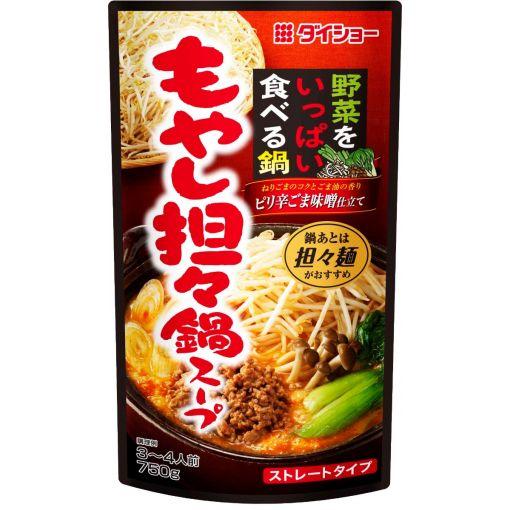 DAISHO / HOT POT SOUP BASE (MOYASHI TANTAN NABE) 750g