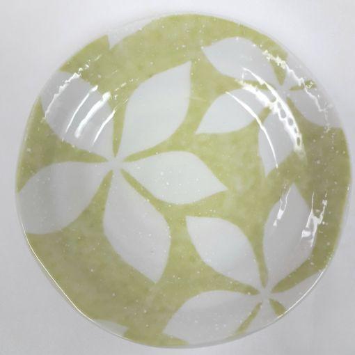 CANDO / PORCELAIN PLATE(5.0 LEEF GREEN) 1p