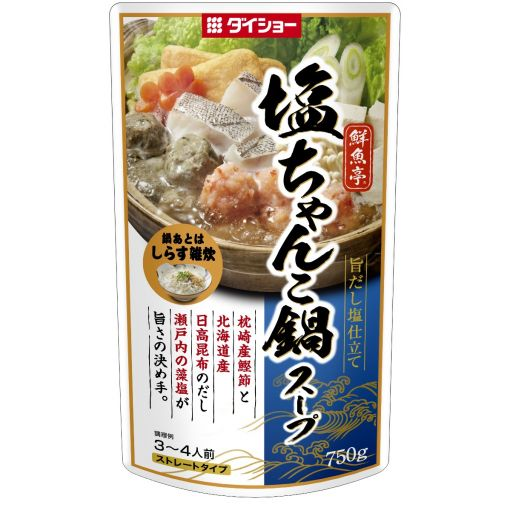 DAISHO / HOT POT SOUP SAUCE (SENGYOTEI SHIO) 750g