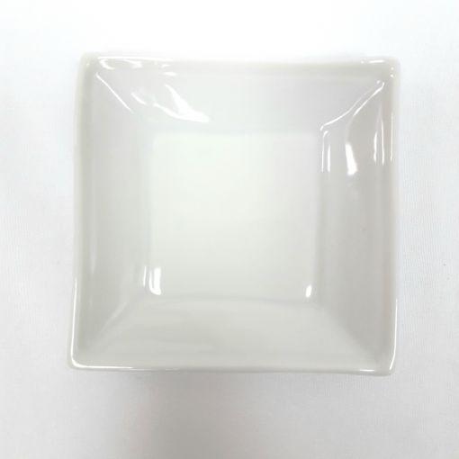 CANDO / #Square plate wh 1p