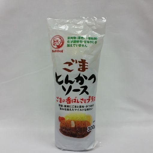 BULLDOG / VEGETABLE SAUCE SESAME (GOMA TONKATSU SAUCE) 300g