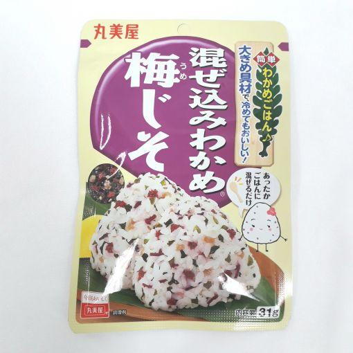 MARUMIYA / RICE SEASONING (MAZEKOMI WAKAME UME SHISO) 31g