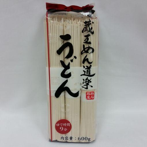 SHIRAISHI / DRIED NOODLES (ZAOU MEN DOURAKU UDON NOODLE) 100gx6