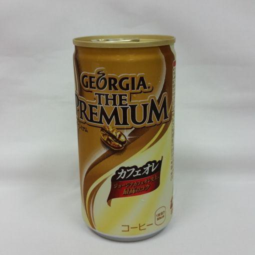COCA COLA JAPAN / COFFEE (GEEORGIA THE PREMIUM CAFE ORE) 185g