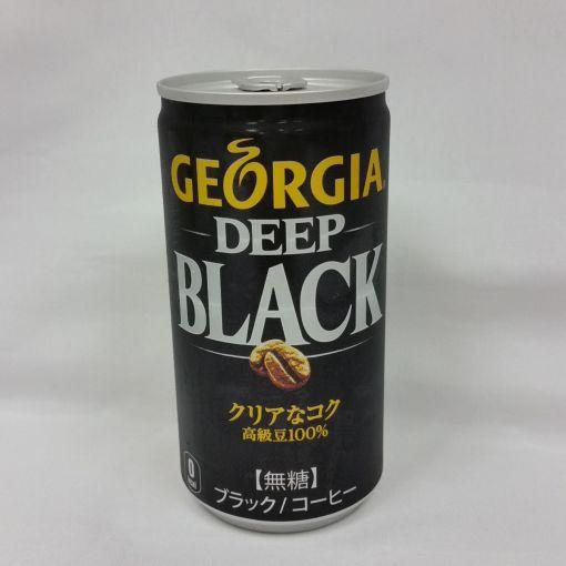 COCA COLA JAPAN / COFFEE (GEEORGIA DEEP BLACK) 185g