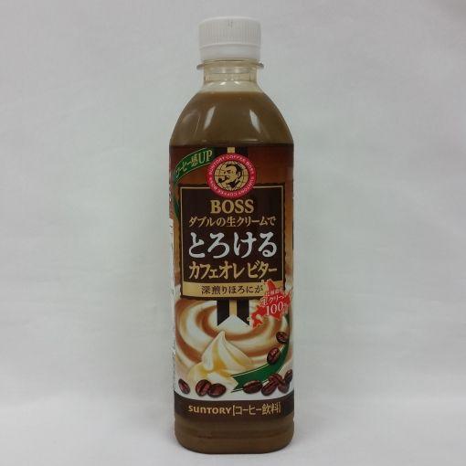 SUNTORY / SOFT DRINK (TOROKERU CAF? ORE BITTER) 500ml