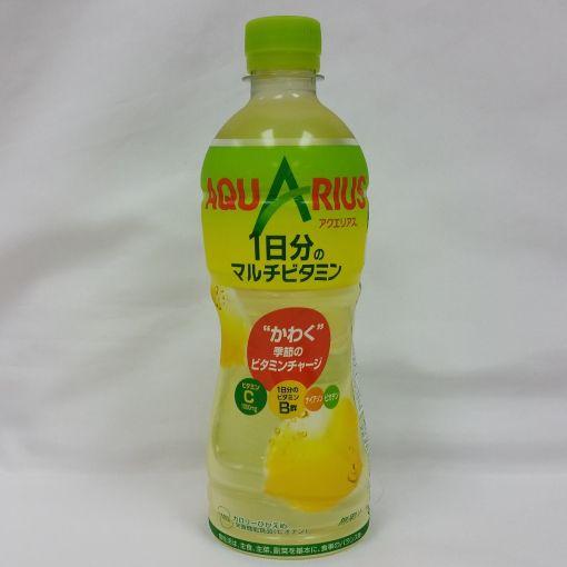 COCA COLA JAPAN / SOFT DRINK (AQUARIUS MULTI VITAMIN) 500ml