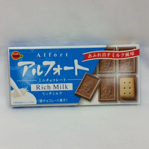 BOURBON / CHOCOLATE SNACK (ALFORT MINI CHOCOLATE RICH MILK) 55g(12p)