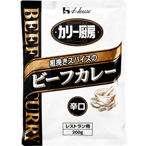 HOUSE / CURRY ROUX(CURRY CHUBO BEEF CURRY HOT) 200g