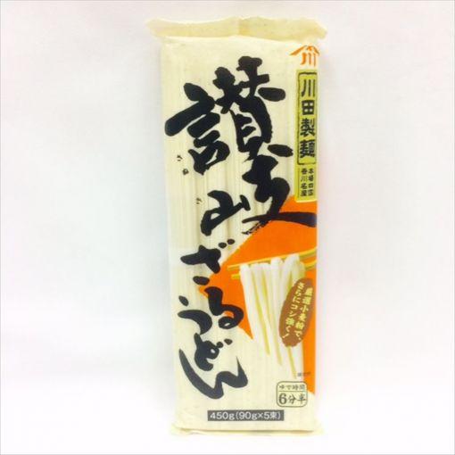 NISSIN FOODS / DRIED UDON NOODLE(KAWATA SANUKI ZARU UDON) 450g
