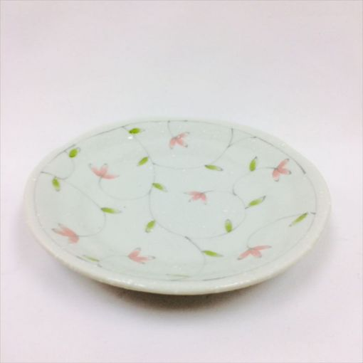 CANDO / PORCELAIN PLATE(4.0 HANA KARAKUSA) 1p