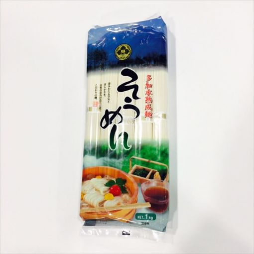 AOI FOODS / AOIYUMEKOBO TAKASUIJYUKUSEI SOMEN 1kg