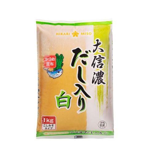HIKARI MISO / SOYBEAN PASTE WITH FISH STOCK WHITE(DASHIIRI MISO DAI SHINAN 1kg