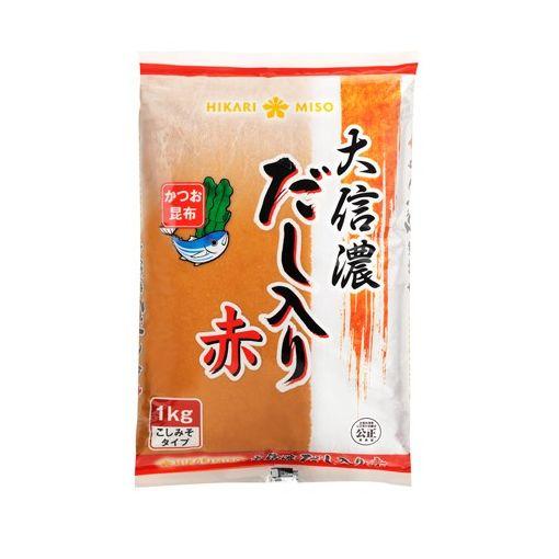 HIKARI MISO / SOYBEAN PASTE WITH FISH STOCK RED(DASHIIRI MISO DAI SHINANO 1kg