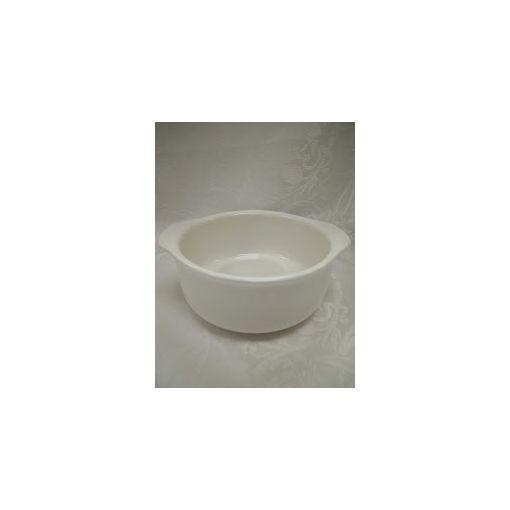 CANDO / PORCELAIN PLATE (MINI GRATIN DISH WHITE) 1p