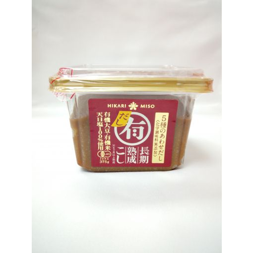 HIKARI MISO / SOYBEAN PASTE WITH FISH STOCK(YUUKI MISO DASHIIRI CUP) 375g