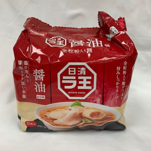 NISSIN / INSTANT NOODLE SOYSAUCE (RAO) 101gx5