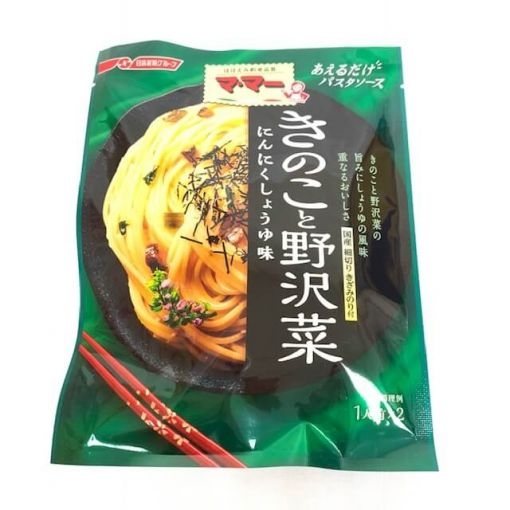 NISSIN FOODS / SEASONING SAUCE (AERUDAKE PASTA SAUCE KINOKOTO NOZAWANA) 60g