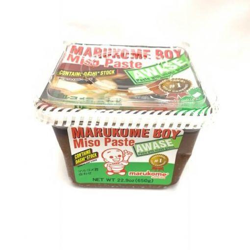 MARUKOME / SOYBEAN PASTE WITH FISH STOCK(MARUKOME-KUN DASHIIRI AWASE) N 650g