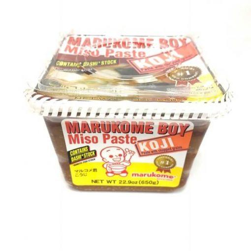 MARUKOME / SOYBEAN PASTE WITH FISH STOCK(MARUKOME-KUN DASHIIRI KOJI) NE 650g