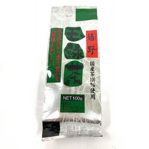 TUBOICHI SEICHA / GREEN TEA (URESHINO TAMA RYOKUCHA) 100g