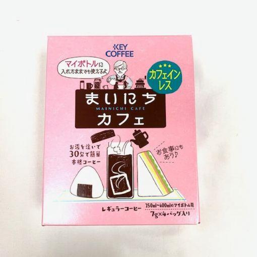 KEY COFFEE / COFFEE BAG MAINICHI CAFE DECAFFEINATED 7gx4p