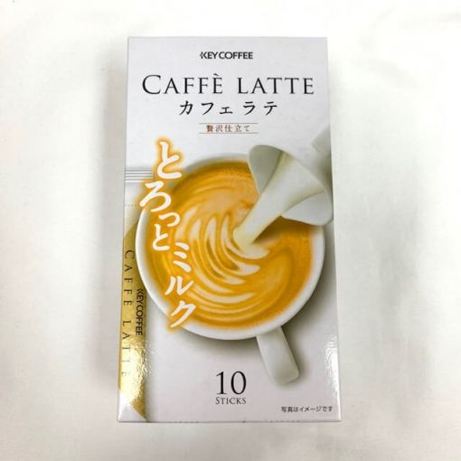 KEY COFFEE / CAFFE LATTE LUXURY 6.2gx10P