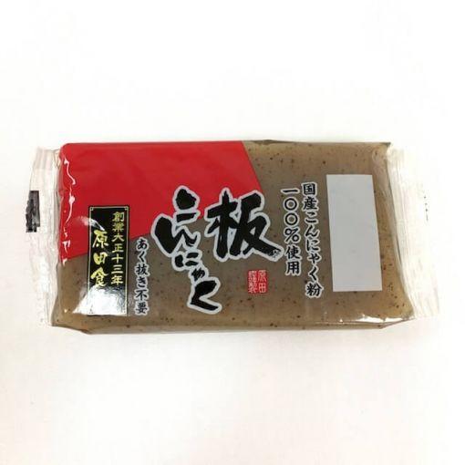 HARADA / YAM PASTE CAKE BLACK (KONNYAKU) 220g
