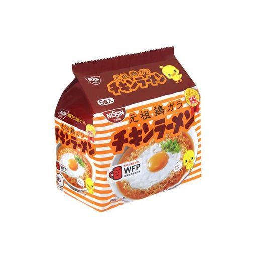 NISSIN / INSTANT NOODLE CHICKEN(CHICKEN RAMEN) 85gx5